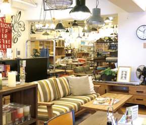 interior shop BICASA 八王子本店