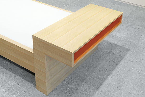 KID'S BED WITH DESK